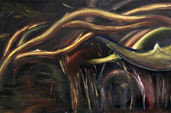 Cristo (óleo sobre lienzo)