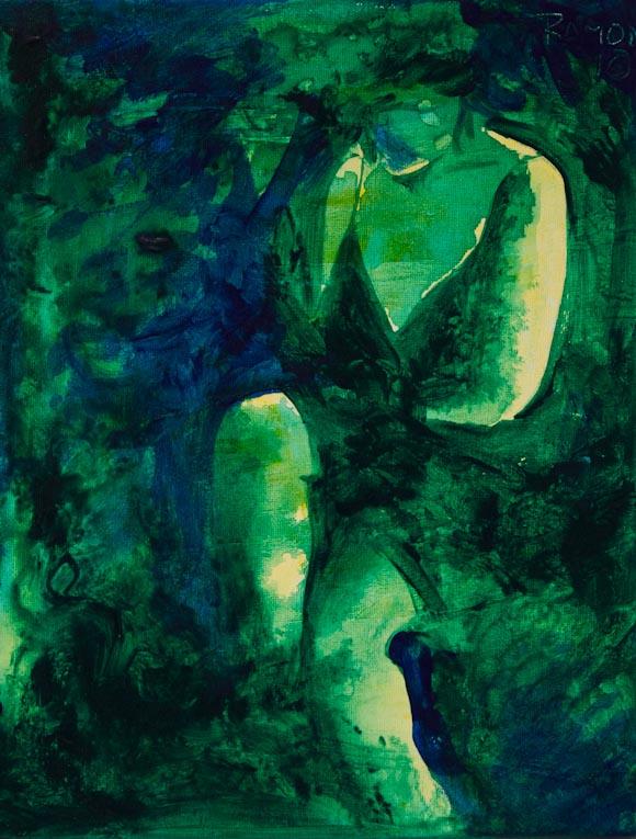 Cuerpo (acrílico sobre lienzo)