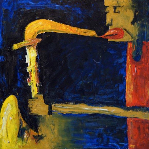 Jazz 2 (óleo sobre lienzo)